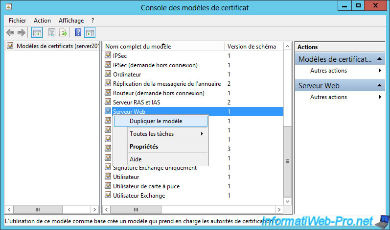 Windows server 2012 2012 r2 create an enterprise root because we show how to secure iis web server rename the new certificate template and change the validity period yadclub Gallery