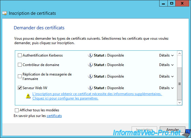 Windows server 2012 2012 r2 create an enterprise root because this certificate is used to verify the address of a website you must specify the domain name of your computer as the common name yadclub Choice Image