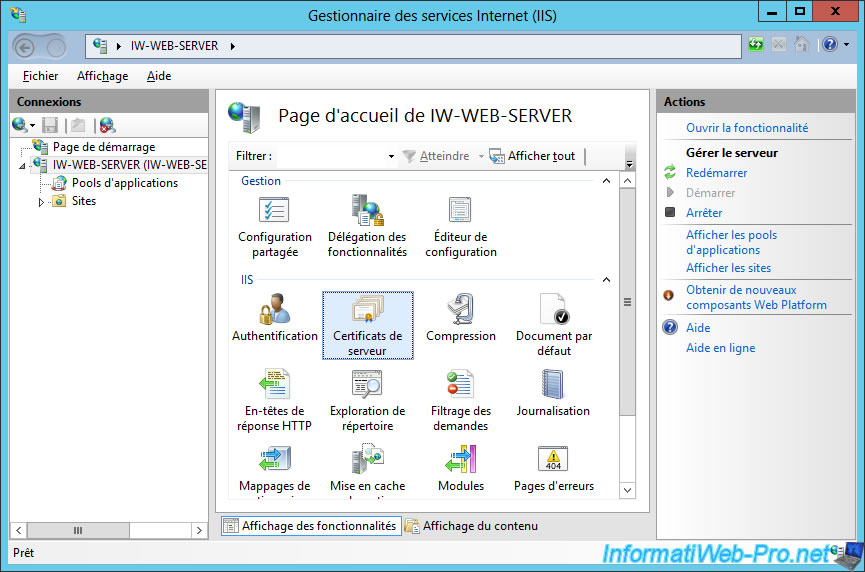 Windows Server 2012 - Secure your web server with SSL (HTTPS ...