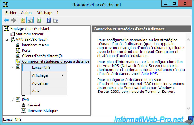 1 routage acces distant nps - Setup Sstp Vpn Server 2012 R2