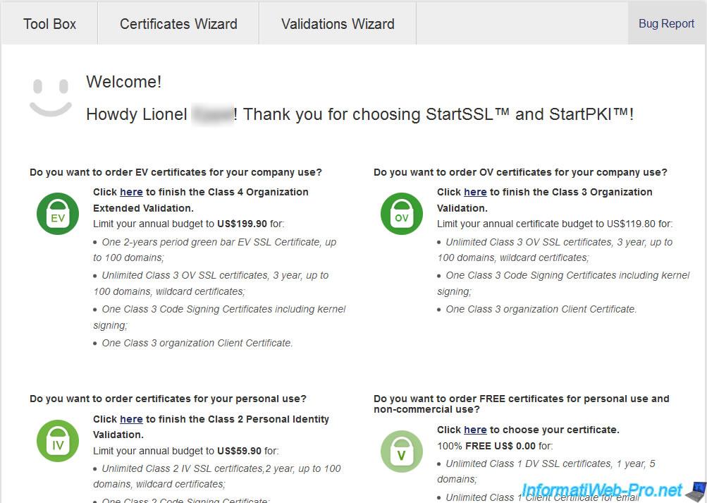 Renew Your Ssl Certificates On Startssl Informatiweb Pro