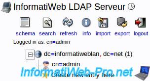 Ubuntu - Install and configure a LDAP server and a Web