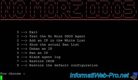 Debian / Ubuntu / CentOs - Block DDOS attacks with No More DDOS