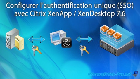 Citrix XenApp / XenDesktop 7.6 - Authentification unique (SSO)