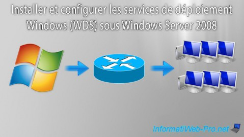 WS 2008 - WDS - Services de déploiement Windows