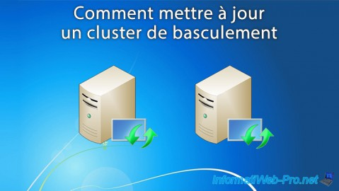 Comment mettre à jour un cluster de basculement sous Windows Server 2012 / 2012 R2