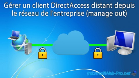 WS 2012 / 2012 R2 - DirectAccess - Gérer un client distant (manage out)