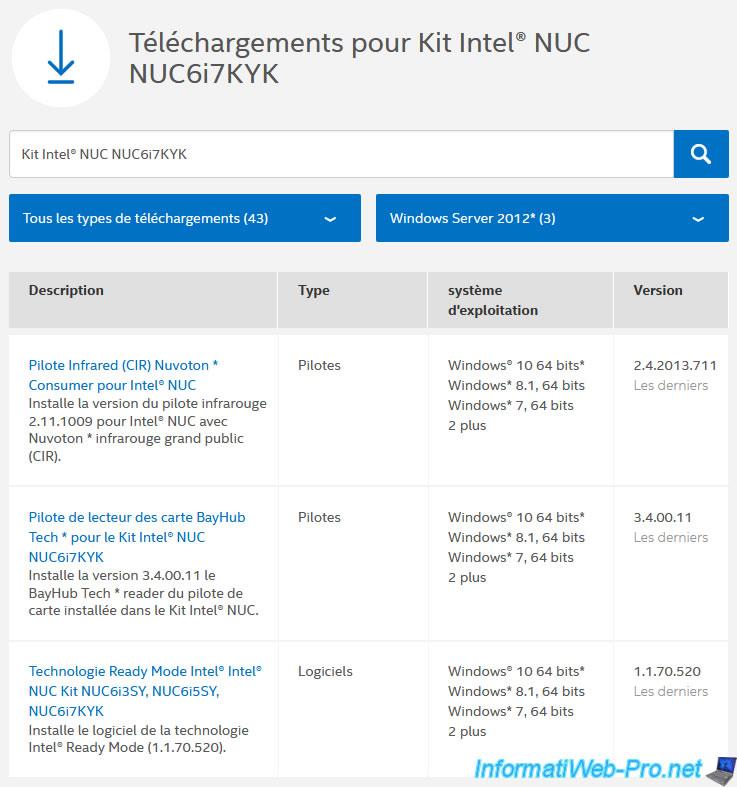 INTEL NUC6I7KYK NUC KIT BAYHUB CARD READER UPDATE