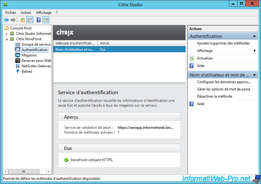 Citrix XenApp / XenDesktop 7 6 - Single Sign-On (SSO