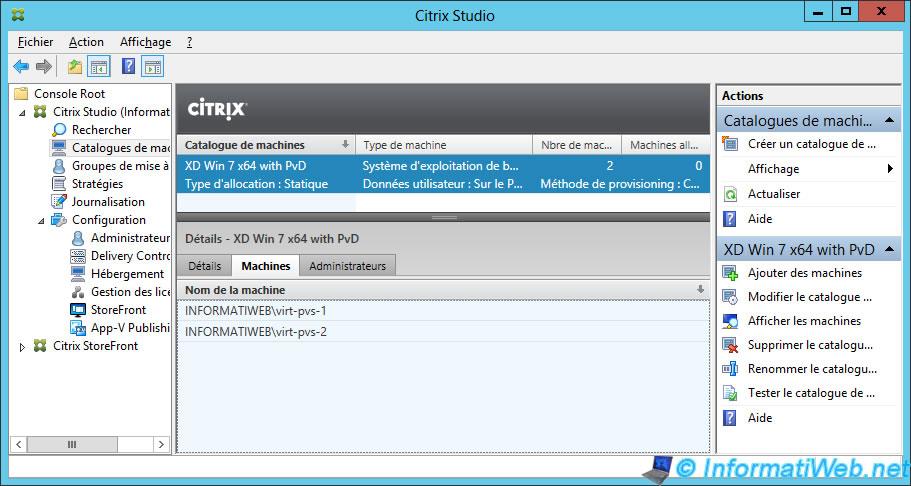 Citrix XenDesktop 7 6 - Desktops delivery by PVS - Page 5