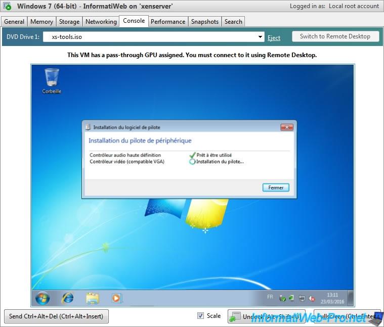 Citrix XenServer 6 5 - VGA passthrough - Page 4 - Citrix