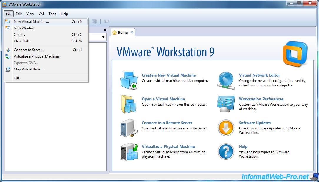 machine virtuelle vmware gratuit