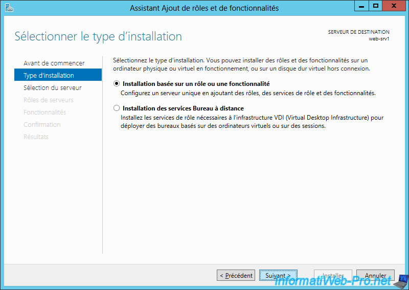 Windows Server 2012 / 2012 R2 - Create a web servers cluster