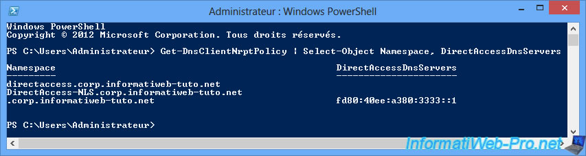 Windows Server 2012 / 2012 R2 - DirectAccess - Installation