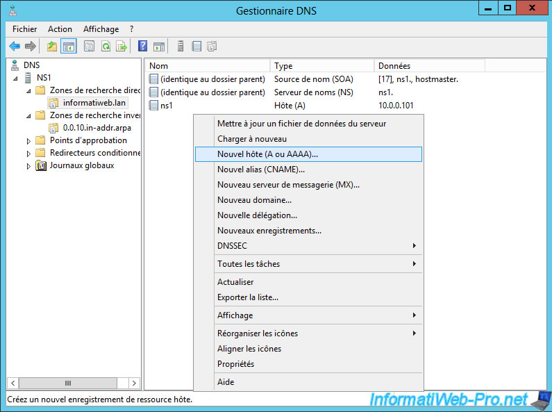 Windows Server 2012 / 2012 R2 - Create a secondary DNS server