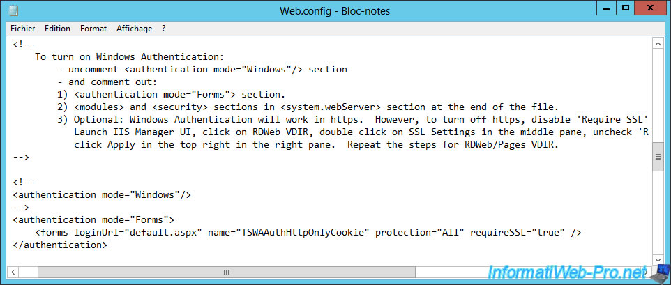 Windows Server 2012 / 2012 R2 - RDS - Enable single sign-on