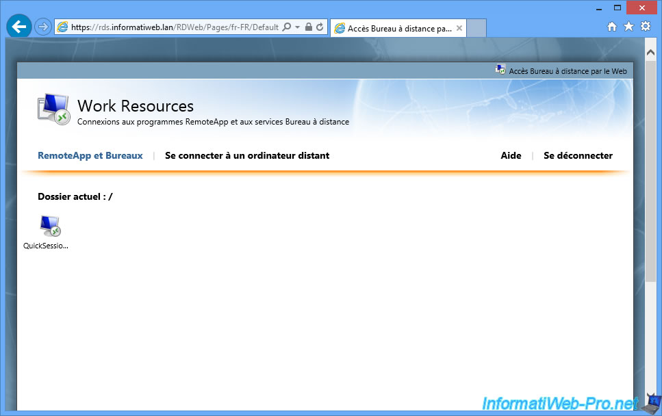 Windows Server 2012 / 2012 R2 - RDS - Deploy a RDS
