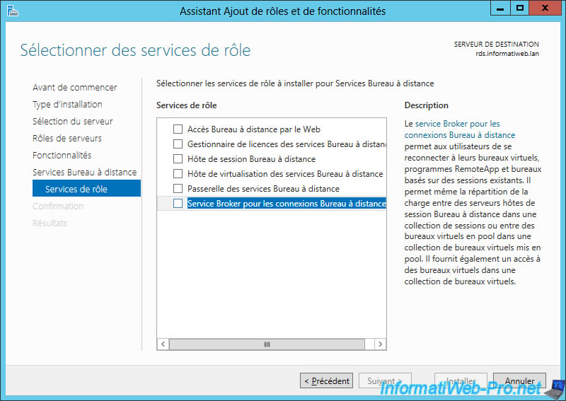 Windows Server 2012 / 2012 R2 - RDS - Deploy a RDS infrastructure