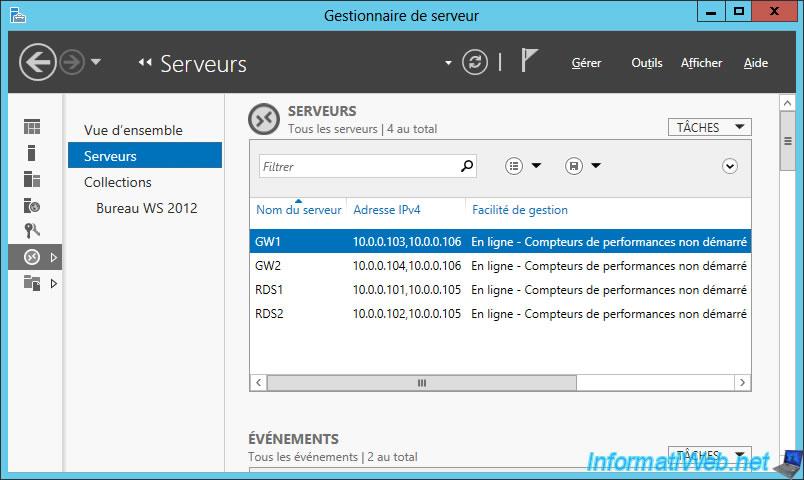 Windows Server 2012 / 2012 R2 - RDS - Set up high