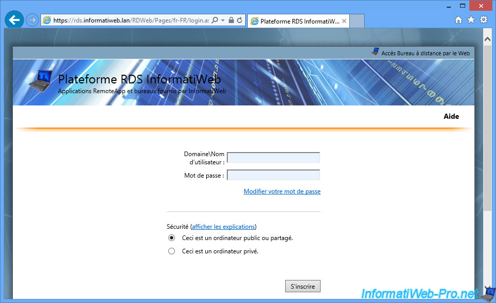 Windows Server 2012 / 2012 R2 - RDS - Customize images and text of