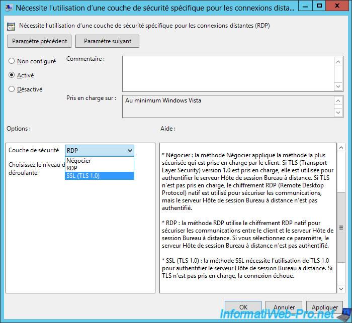 Windows Server 2012 / 2012 R2 - RDS - Enable Network Level