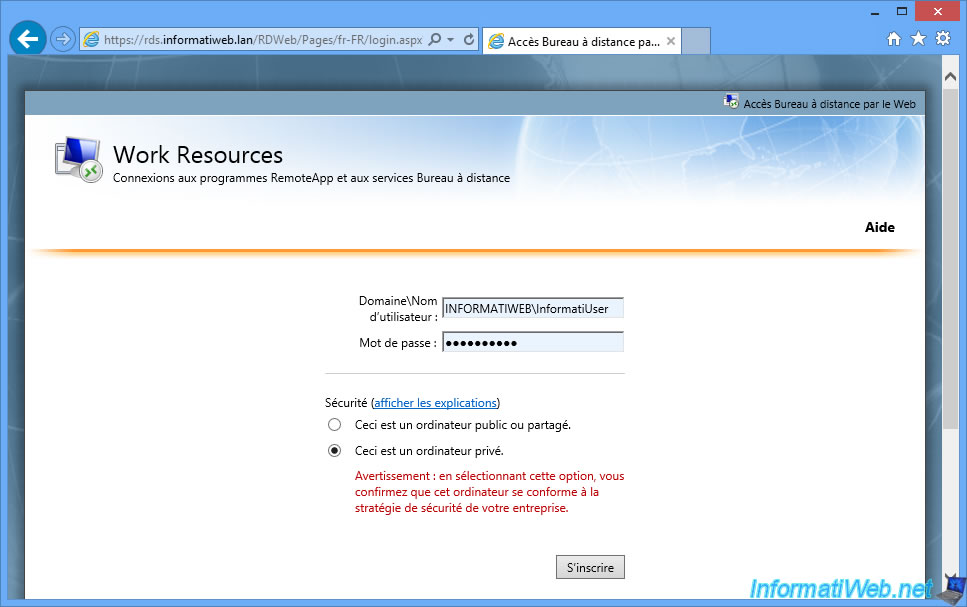 Windows Server 2012 / 2012 R2 - RDS - Publish RemoteApp